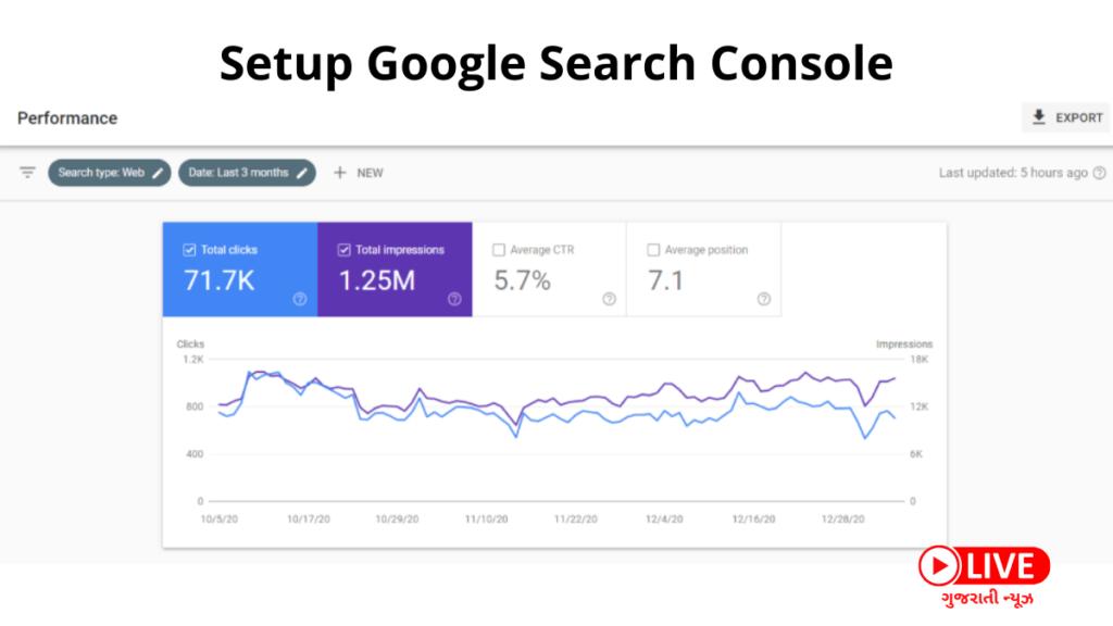 Copy of SEO શું છે, SEO કેવી રીતે કરવું, Setup Google Search Console