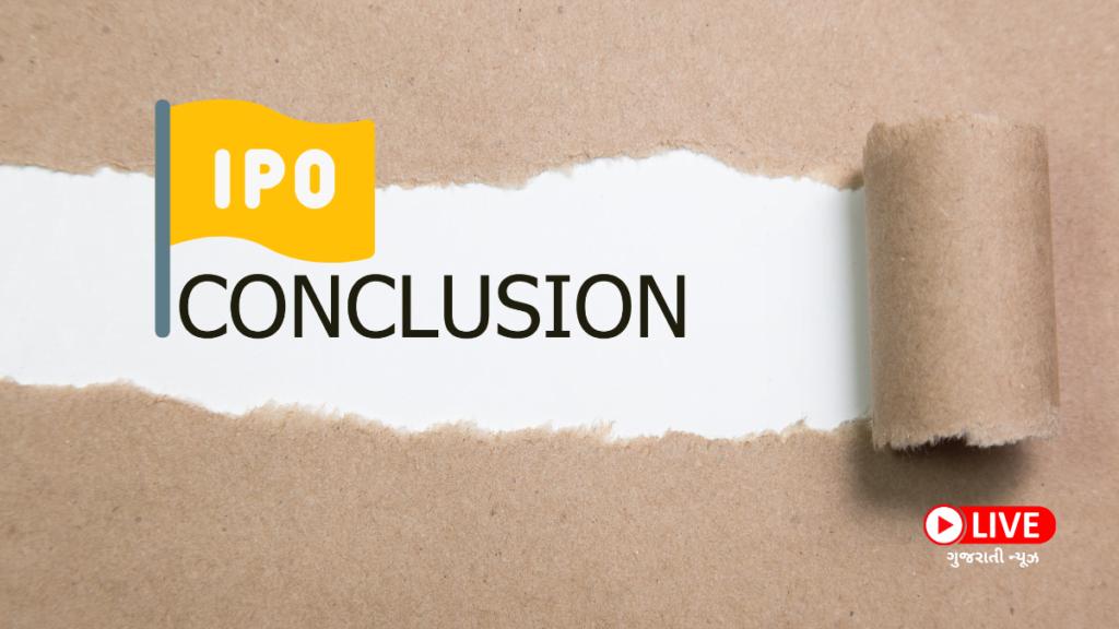 Conclusion, IPO શું છે IPO કેવી રીતે ખરીદવો ગુજરાતી માં ipo meaning in gujarati